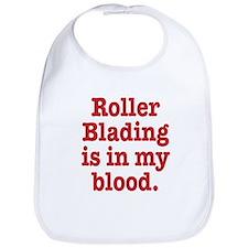 Cute Roller blading Bib