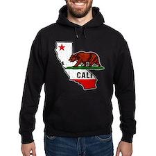 California Bear Flag (Distressed) Hoodie