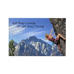 Rock Climber with Inspire Cliche