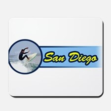 San Diego Surf Beach Mousepad