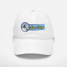 San Diego Surf Beach Baseball Baseball Baseball Cap
