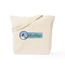 San Diego Surf Beach Tote Bag