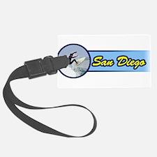 San Diego Surf Beach Luggage Tag
