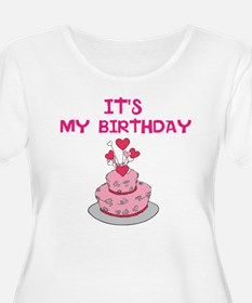 ITS MY BIRTHDAY Plus Size T-Shirt