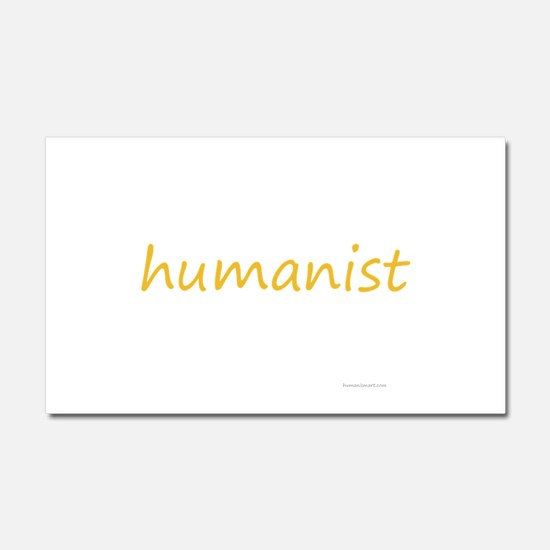 humanist Car Magnet 20 x 12