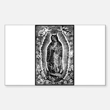 Vintage Guadalupe Rectangle Decal