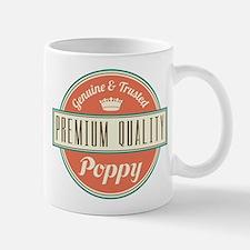 Vintage Poppy Mug