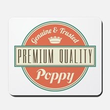 Vintage Poppy Mousepad