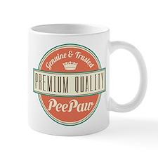 Vintage PeePaw Small Mug