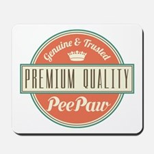 Vintage PeePaw Mousepad