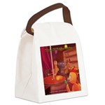 Origin Of Chicken Strips Canvas Lunch Bag