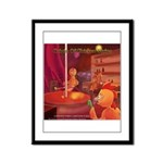 Origin Of Chicken Strips Framed Panel Print