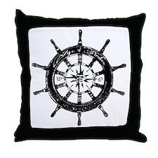 Age of Pirates Logo Throw Pillow