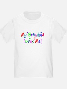 My Grandma Loves Me (des. #1) T