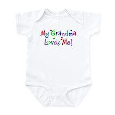 My Grandma Loves Me (des. #1) Infant Bodysuit