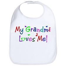 My Grandma Loves Me (des. #1) Bib