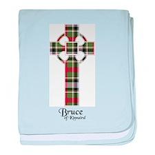 Cross - Bruce of Kinnaird baby blanket