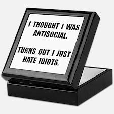 Antisocial Idiots Keepsake Box