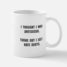 Antisocial Idiots Small Small Mug