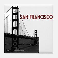San Francisco Golden Gate Tile Coaster