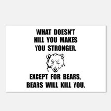 Bears Kill Postcards (Package of 8)