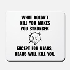 Bears Kill Mousepad