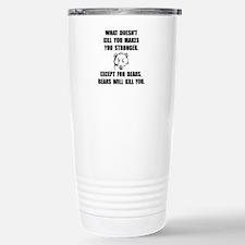 Bears Kill Travel Mug