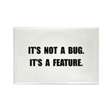 Bug Feature Rectangle Magnet (10 pack)