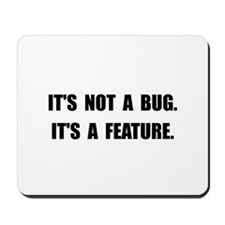 Bug Feature Mousepad