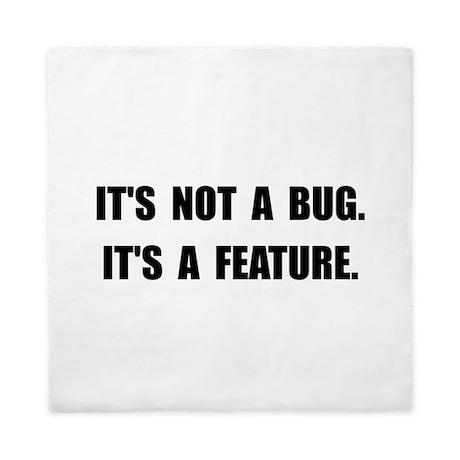 Bug Feature Queen Duvet