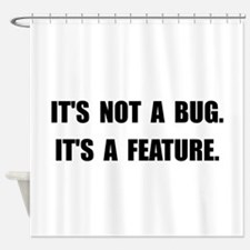 Bug Feature Shower Curtain