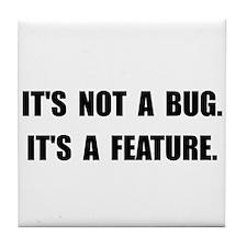 Bug Feature Tile Coaster