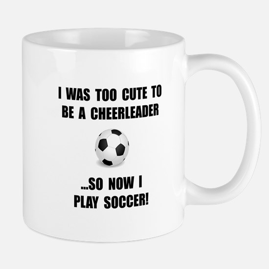 Cheerleader Soccer Mug