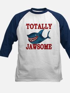 Totally Jawsome Shark Kids Baseball Jersey