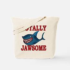 Totally Jawsome Shark Tote Bag