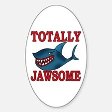 Totally Jawsome Shark Decal