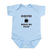 Coffee Poop Body Suit