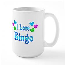 I Love Bingo Coffee Mug