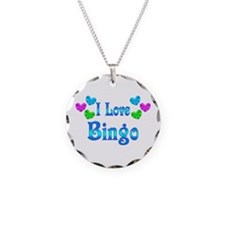 I Love Bingo Necklace
