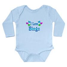 I Love Bingo Long Sleeve Infant Bodysuit