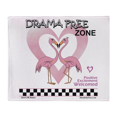 Drama Free Together Throw Blanket