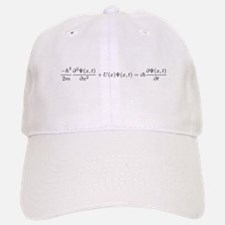 Schroedinger Equation Baseball Baseball Cap