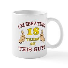 Funny 18th Birthday For Boys Mug