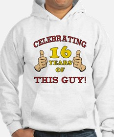 Funny 16th Birthday For Boys Hoodie