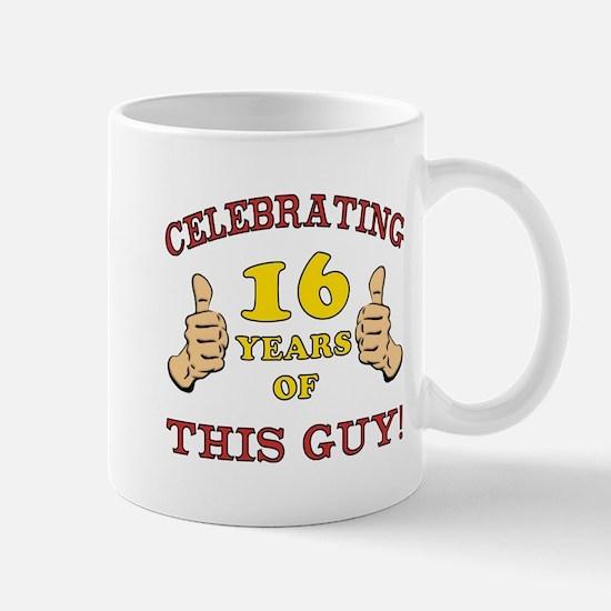 Funny 16th Birthday For Boys Mug