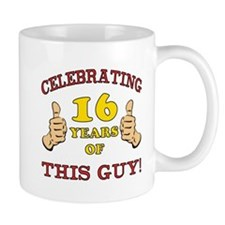 Funny 16th Birthday For Boys Small Mug