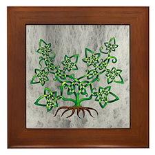 Ivy Framed Tile