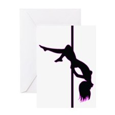 Stripper - Strip Club - Pole Dancer Greeting Card