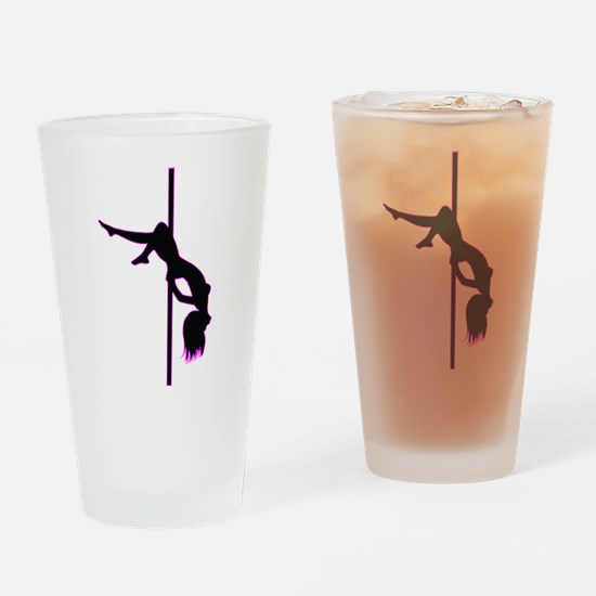 Stripper - Strip Club - Pole Dancer Drinking Glass