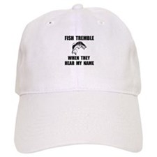 Fish Tremble Baseball Baseball Cap